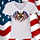 Thumbnail: Eagle Flag Wings Tee