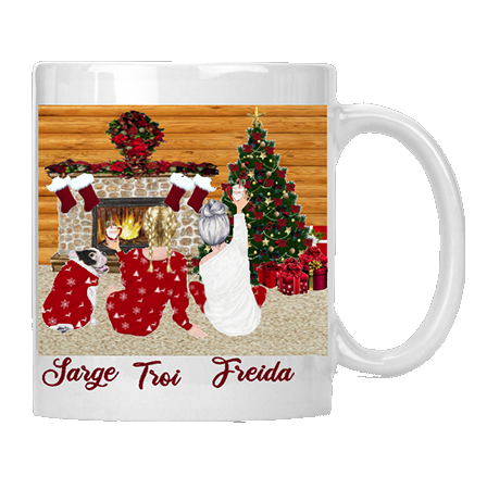 Mother & Daughter Time Christmas Mug