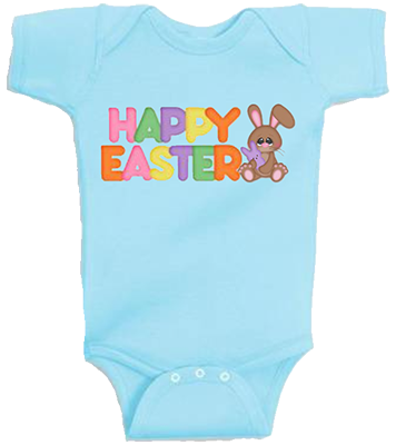 Happy Easter Infant Onesie