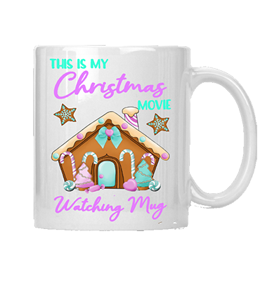 My Christmas Movie Watching Mug