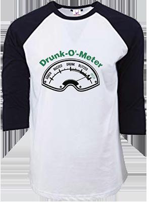 Drunk O Meter Raglan