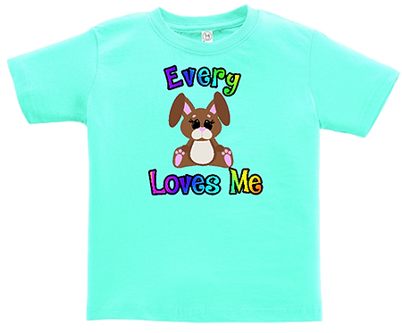 Every Bunny Loves Me Infant/Toddler Tee