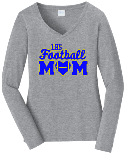 Ladies V Neck Longsleeve Tee