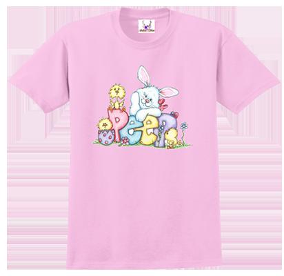 Peep Bunny Tee