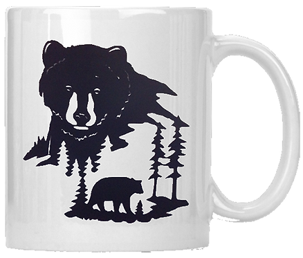 Bear Scene Coffee Mug