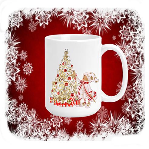 Elf Mug red