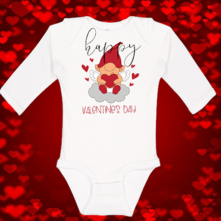 HVD Gnome Onesie or Toddler Tee
