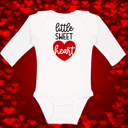 Little Sweet Heart Onesie or Toddler Tee