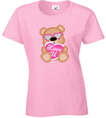I Love You Bear Tee