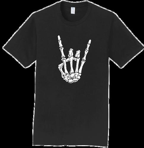 Mens Rock N Roll Skeleton Hand