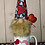 Thumbnail: Heart Applique Gnome In A Mug