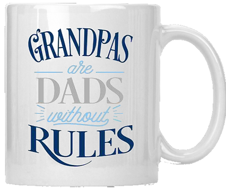 Grandpas Are Dads Without Rules Coffee Mug