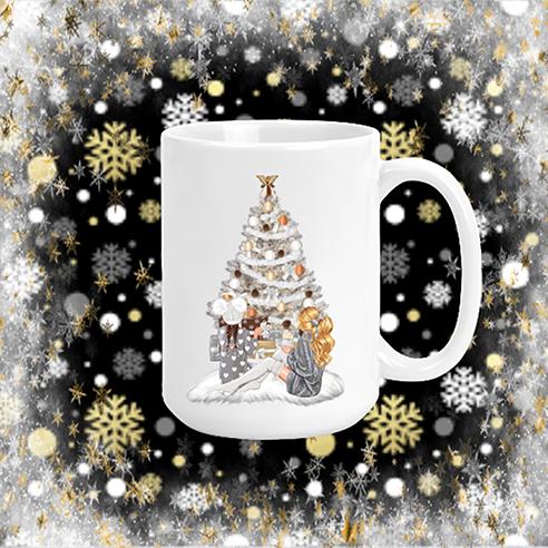 Merry Christmas Girls Mug