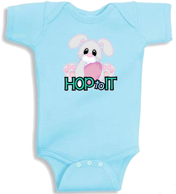 Hop To It Infant Onesie