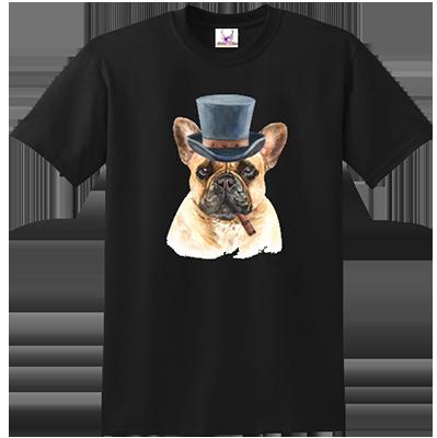 French Bulldog Top Hat