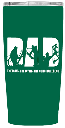 Dad The Hunting Legend 20 oz Custom Tumbler