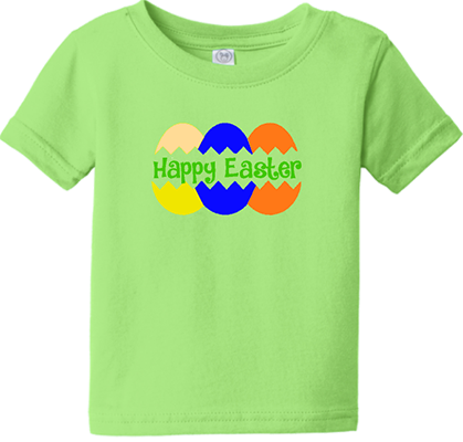 Happy Easter Eggs Infant/Toddler Boys Tee