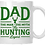 Thumbnail: Dad The Hunting Legend II Coffee Mug
