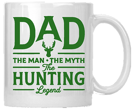 Dad The Hunting Legend II Coffee Mug
