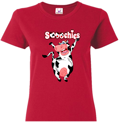 Cow Smoochies Tee