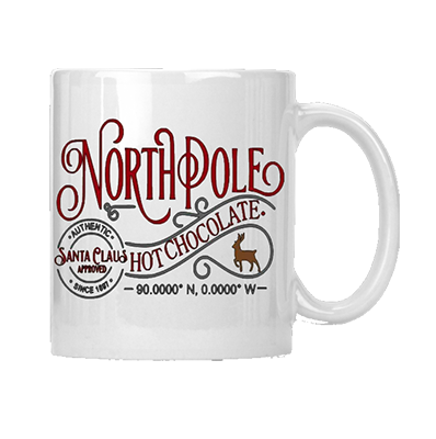 North Pole Hot Chocolate Mug