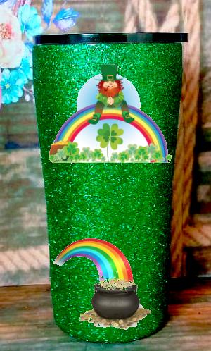 20 oz Leprechaun Rainbow