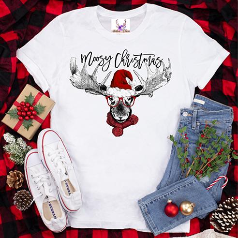 Moosy Christmas Tee