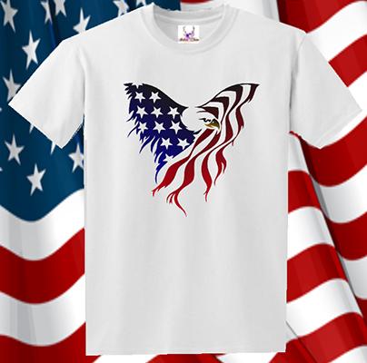 Eagle Flag Tee