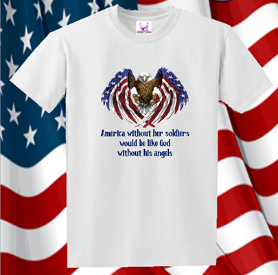 America Without Her Soldiers Tee