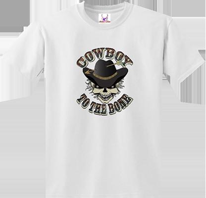 Cowboy To The Bone Tee