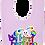 Thumbnail: 1st Easter Rainbow Bunny Bib