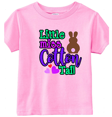 Little Miss Cotton Tail Infant/Toddler Tee
