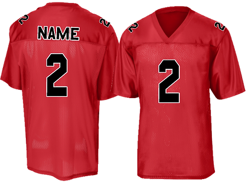 Football Replica Jersey Red