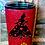 Thumbnail: 20 oz. White or Red Glitter Queen of Hearts Custom Travel Mug