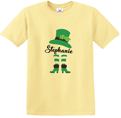 Lady Leprechaun w/Name Tee