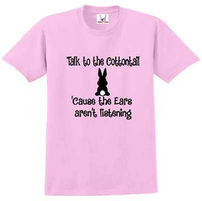 Talk To The Cottontail Tee