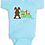 Thumbnail: 1st Easter Chocolate Bunny Boys Infant Onesie