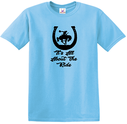 It's About The Ride Tee
