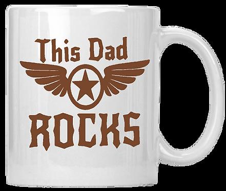 This Dad Rocks Coffee Mug