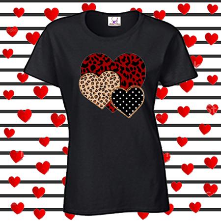 Leopard Hearts