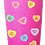Thumbnail: 20 oz. Bubblegum Glitter Candy Hearts Custom Travel Mug