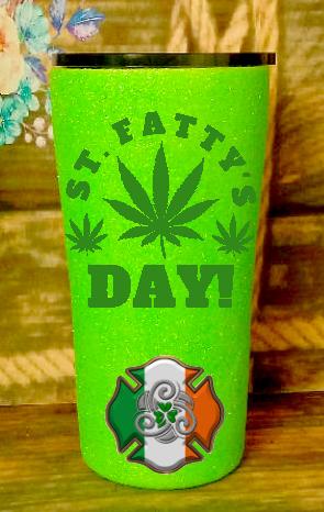 20 oz St Fattys Day