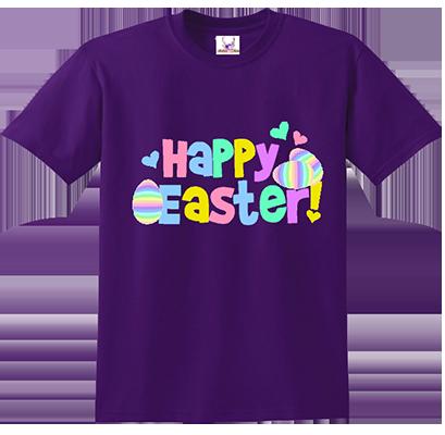 Happy Easter Pastels Tee