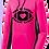 Thumbnail: Ladies Cancer Awareness Sport Wick Fleece Hoodie