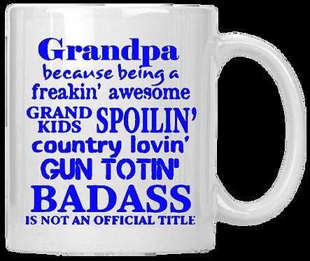 Grandpa Badass Coffee Mug