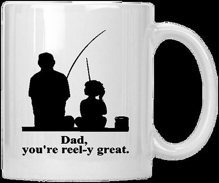 Father Daughter Fishing Coffee Mug
