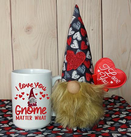 I Love You Gnome Matter What Gnome In A Mug