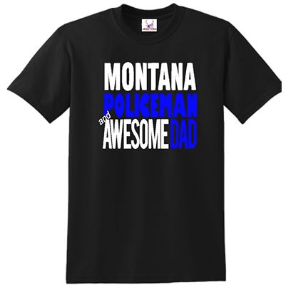 State Policeman & Awesome Dad Tee