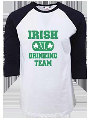 Irish Drinking Team Raglan