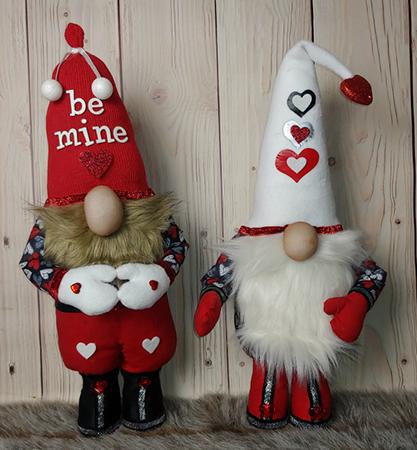 Lovander & Lev Valentine Gnomes